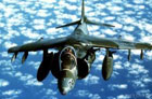 Harrier aircraft